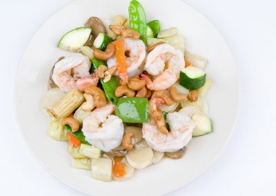 Shrimp with Cashew